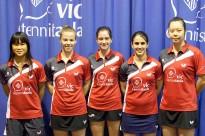 El Vic TT suma cinc podis als campionats estatals de tennis taula