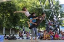 L'espectacle de final de curs de l'Escola de Circ Tub d'Assaig, en imatges
