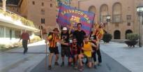 Ofrena egarenca a la Moreneta per complir una aposta sobre el Barça
