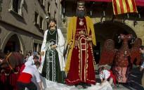 La diada de Sant Miquel marca l'equador de la festa major de Vic