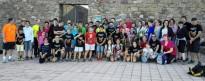 Els saxofonistes del Conservatori de Terrassa pugen a La Mola