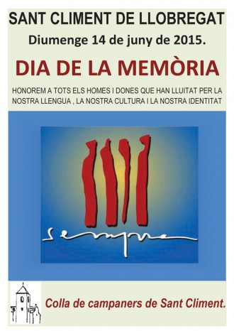Vés a: El cartell del Dia de la Memòria 2015