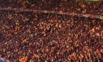 Vés a: La UEFA expedienta el Barça per les estelades a la final de la Champions a Berlín