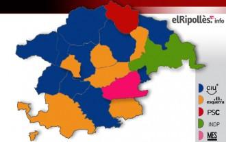 El mandat comença amb sis alcaldes nous de 19 i només cinc alcaldesses