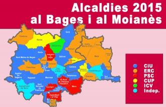 Només a Artés i Gaià no trien alcalde de la llista més votada