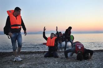 La marina grega, desbordada