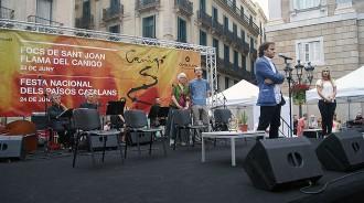 Jaume Asens: «La flama de Sant Joan s'estén per tots els Països Catalans»