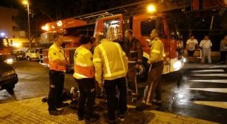 Mor una dona en un incendi d'un habitatge al carrer Rioja de Terrassa