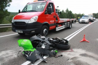 Mor un motorista en un accident de trànsit a Bassella