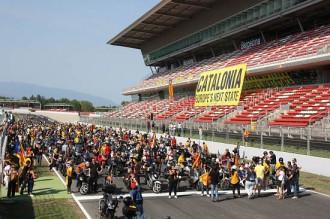 El Circuit aplega unes 4.500 motos a la Motorada per la Independència