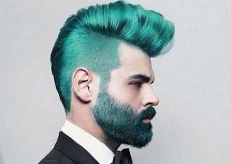 «Merman», els homes amb barba i el cabell de colors