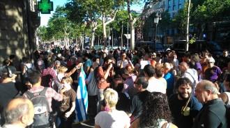 Vés a: Grècia rep suports al centre de Barcelona