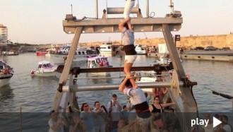 El pilar de Los Xics Caleros torna «a bordo»