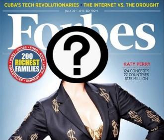 Quina és l'artista més ben pagada segons la revista Forbes?