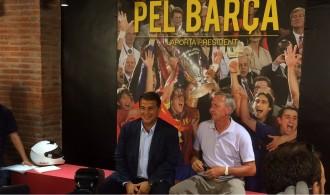 Vés a: Johan Cruyff revoluciona la seu electoral de Joan Laporta