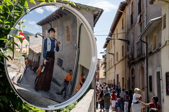 Gegants a Sant Quirze de Besora