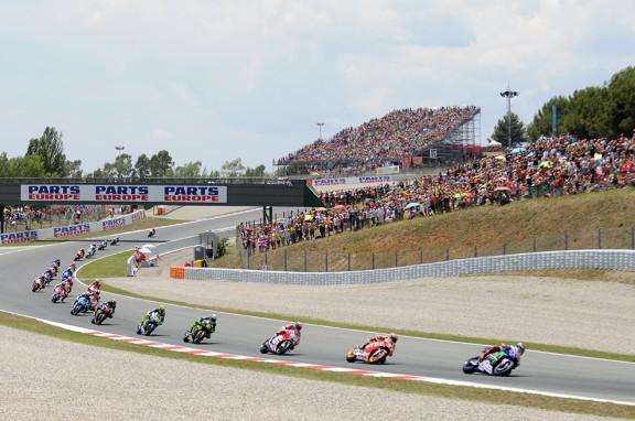 MotoGP a Montmeló