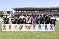El Rayo Vallecano incorpora els colors de la bandera gai a la segona equipació