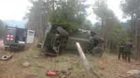 Cinc sergents ferits en un accident de camió en unes maniobres militars al Pallars Jussà