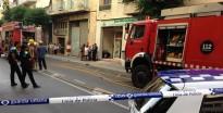 Ensurt per un incendi en una botiga de material agrícola de Reus