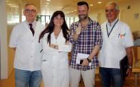 Una operació pionera a Girona permet extirpar un tumor al pàncrees