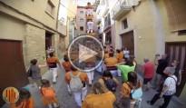 El vídeo del pilar dels Sagals que va caminar 200 metres
