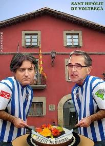 Xavier Vilamala i Hipòlit Serra es reparteixen el pastís municipal