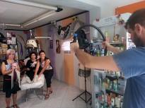 El comerç de Calldetenes prepara un innovador vídeo promocional
