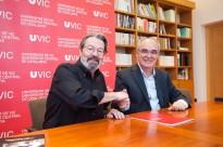 La UVic-UCC i el BM Granollers signen un conveni de col·laboració