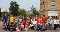 Els nens bielorussos i ucraïnesos de Txernòbil arriben a Osona
