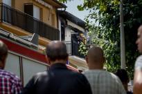 Un incendi obliga a desallotjar els veïns d'un habitatge de Manlleu