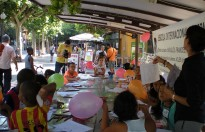 Una setantena de nens, als tallers infantils de Quin Passeig