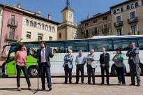 Presenten el nou bus exprés.cat Vic-Barcelona