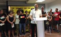 La CUP tria Antonio Baños: «Ens presentem per buscar-nos problemes amb les lleis espanyoles»