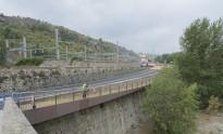 La passera entre el Pont Vell i la Renfe s'obre divendres
