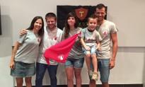 Els Xiquets presenten el marxandatge dels seus aniversaris d'enguany