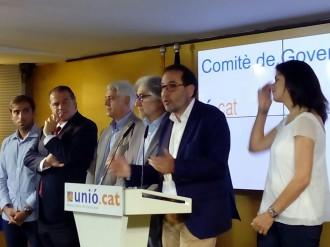 Vés a: Josep Sánchez Llibre dirigirà la campanya d'Unió cap al 27-S