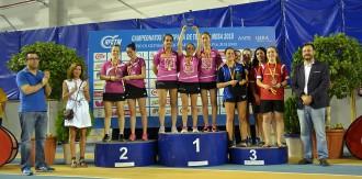 El Vic TT obté una pluja de medalles als campionats estatals de tennis taula