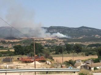 Vés a: Estabilitzat l'incendi forestal de Montblanc, després de cremar quatre hectàrees