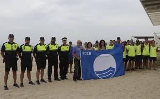 Cambrils hissa les banderes blaves a les seves platges, enguany amb una més