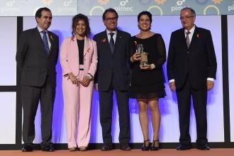 La Granja escola de Palautordera rep el premi al valors d'empresa de la Pimec