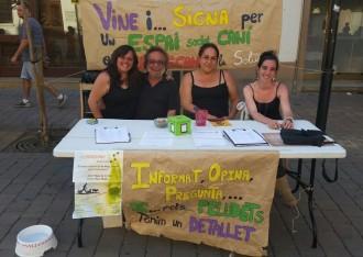 950 signatures a favor d'un correcan a Santa Maria de Palautordera