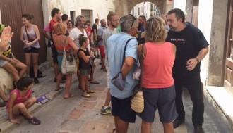 Inicien els tràmits per desallotjar una casa a Torredembarra