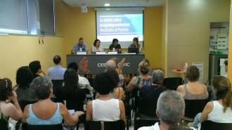 Primer debat de Projecte Home sobre drogodependències al Pallars