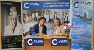 CESDA i Solanes Joier-Breitling signen un conveni en favor dels joves