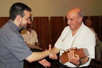 Comiat de la Vint-i-Quatrena  a Josep Muxí i Jordi Baraldés