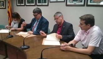 Generalitat, Ajuntament i UBIC de Palau sumen per la dinamització comercial