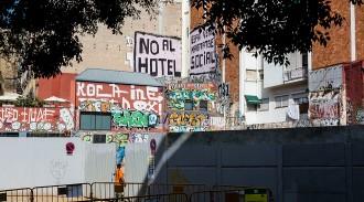 Els veïns preparen una denúncia contra l'hotel de Núñez al Rec Comtal