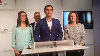 Albert Rivera i Inés Arrimadas, doblet de candidats de C's