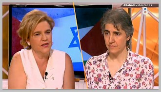 Rahola i Forcades, cara a cara a «8aldia» sobre el conflicte palestí